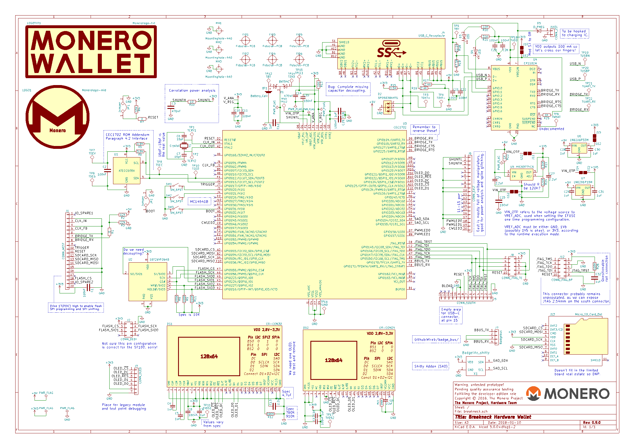 Breakneck schematic print