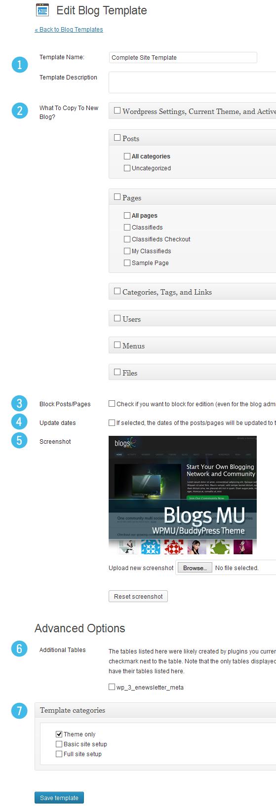 GitHub - wpmudev/blogtemplates: New Blog Templates