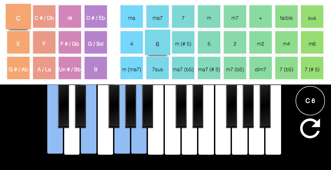 GitHub   aureliet/piano chords A responsive app to learn and test ...