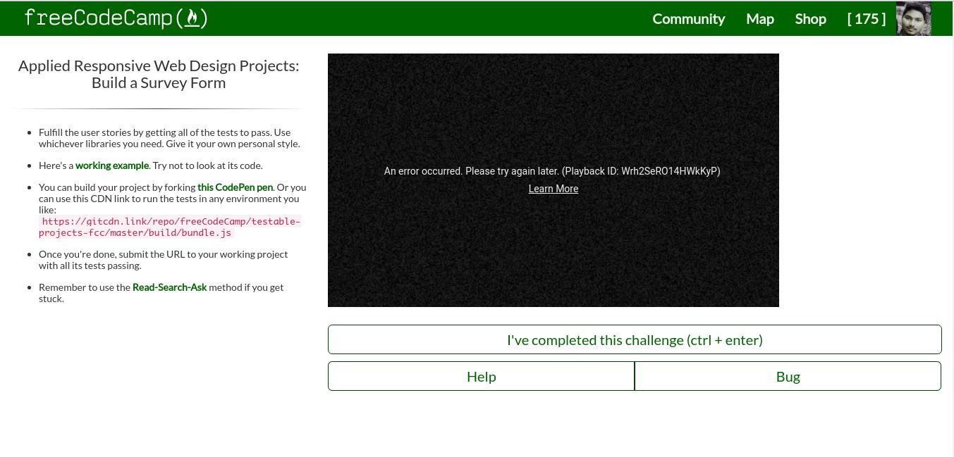 FCC - Beta] Youtube Playback Error · Issue #13710