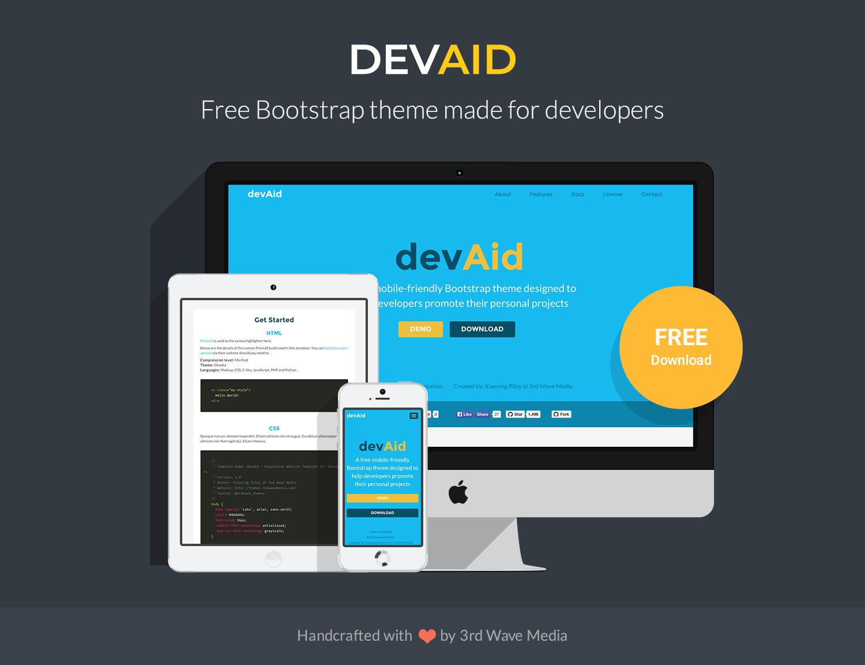 Github Powerticmktdevaid Theme Free Bootstrap 4 Theme For