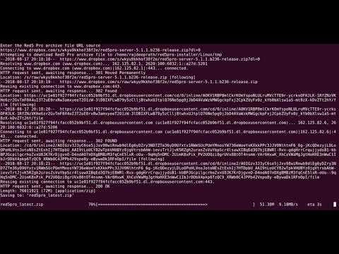 Installing Red5 Pro from custom url