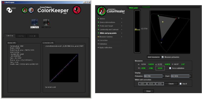 ColorKeeper and ColorHealer