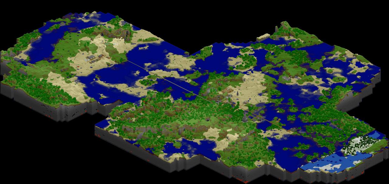 Image of a Minecraft world