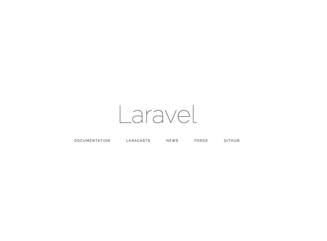Laravel app deploy successful!