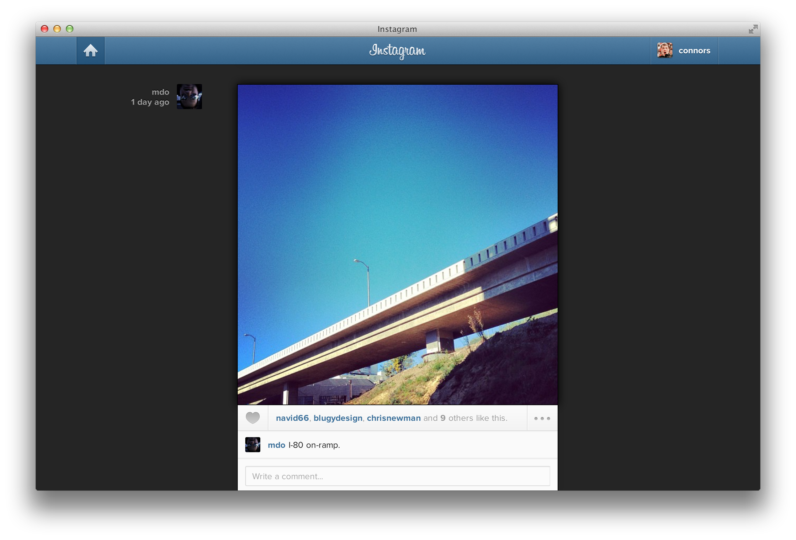 GitHub - connors/instagram-user-style: I love the new photo