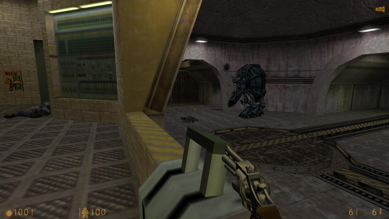 Half Life 1: Door won't open in Level