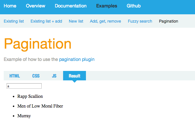 Pagination links disappear on last page when searching · Issue #176