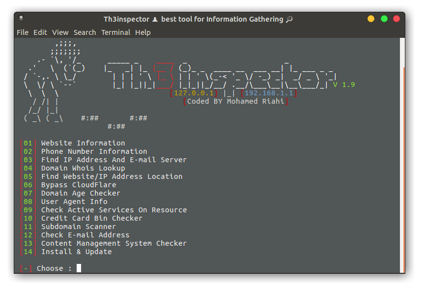 GitHub - Moham3dRiahi/Th3inspector: Th3Inspector 🕵️ Best