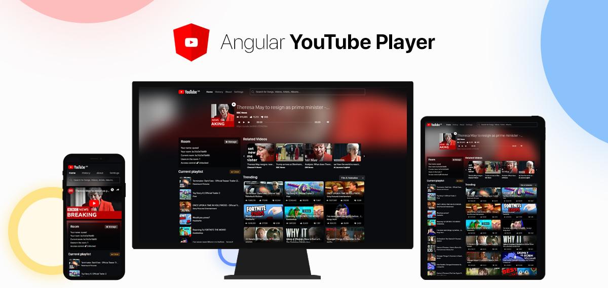 Angular YouTube Player Logo