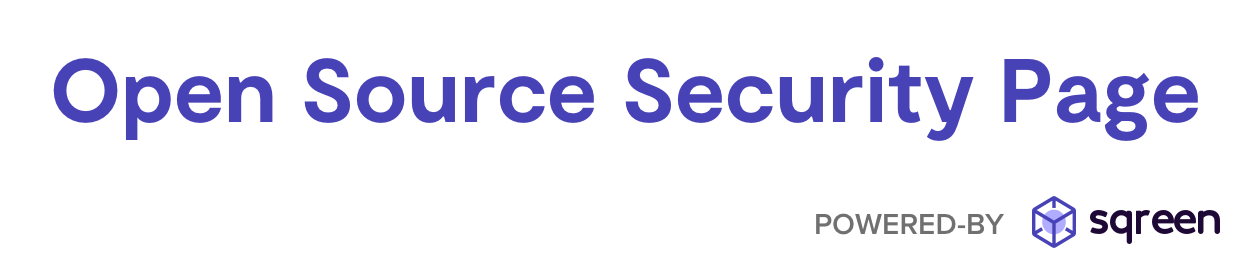 Open Source Security Page Logo