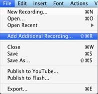 Add Recording