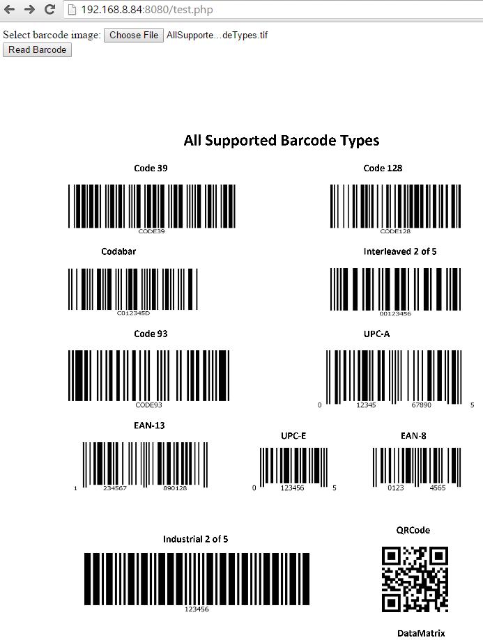 GitHub - dynamsoft-dbr/php-barcode-reader