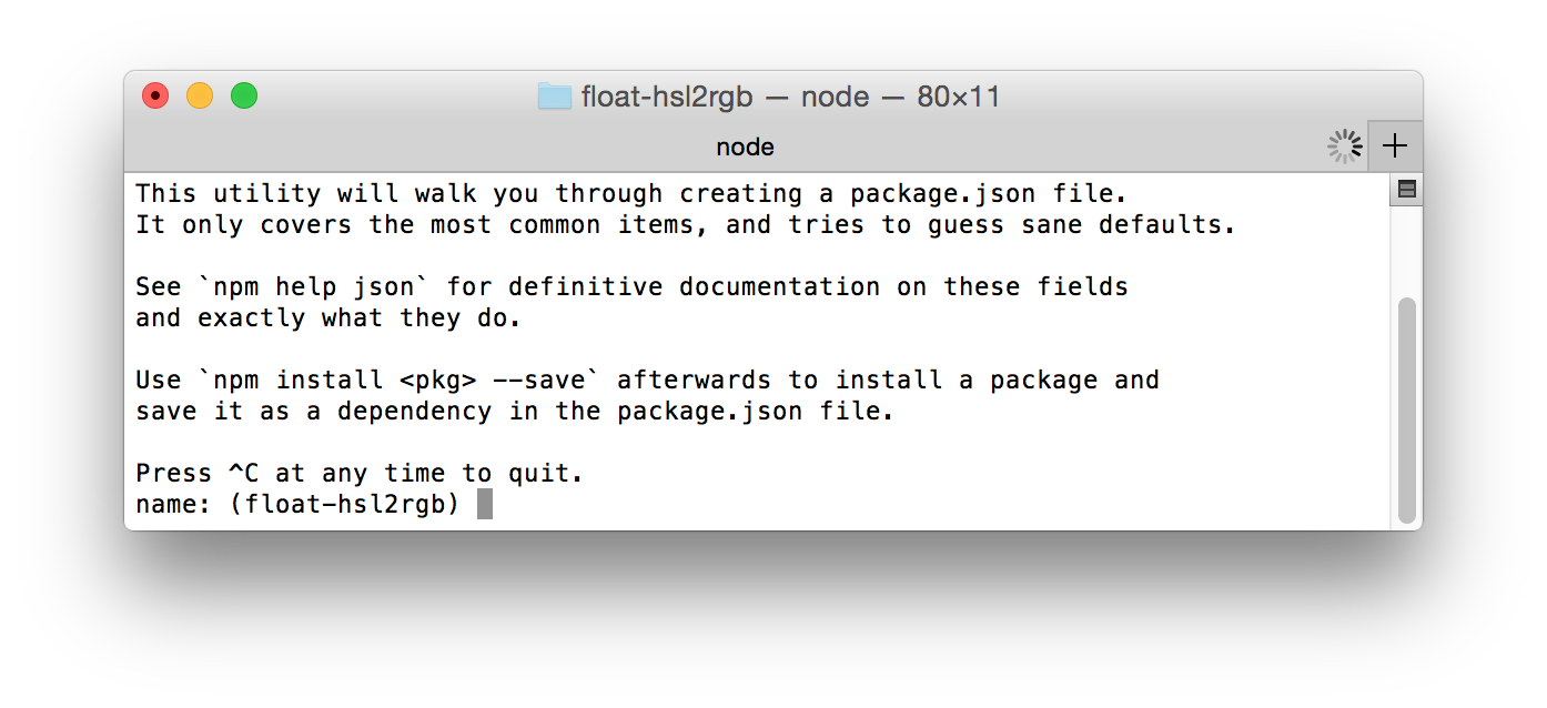 how to know which npm package we need