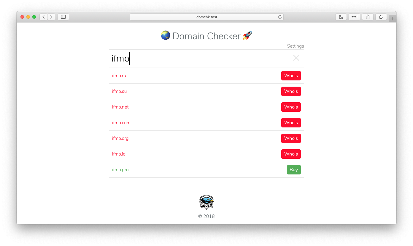 GitHub   dbelyaeff/domain checker Domain checker. Built with ...