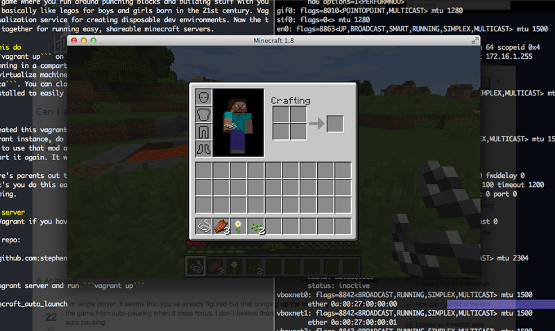 Minecraft Vagrant