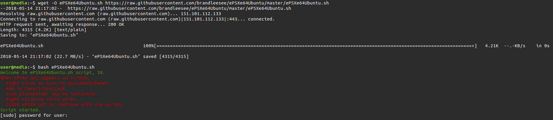 GitHub - brandleesee/ePSXe64Ubuntu: Install ePSXe Linux (x64