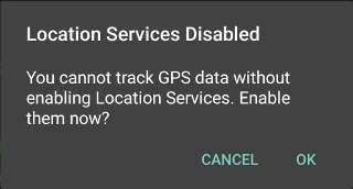 Suppress multiple GPS Notifications · Issue #251 · CellularPrivacy