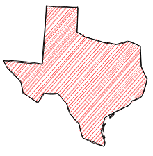 Rough.js texas map