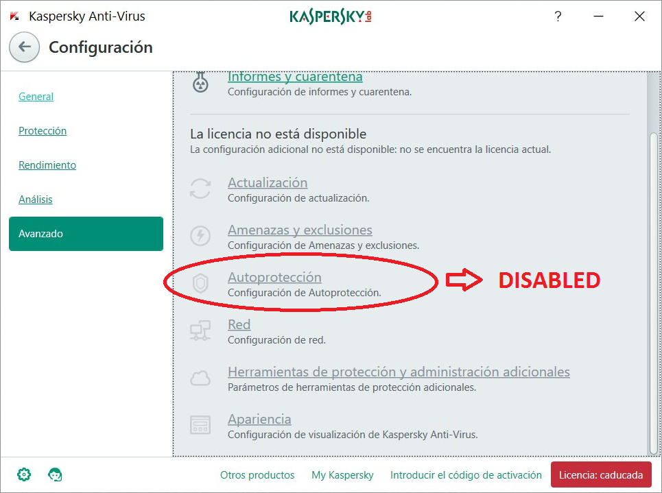 How to reset kaspersky 2018 trial license after expiry date.