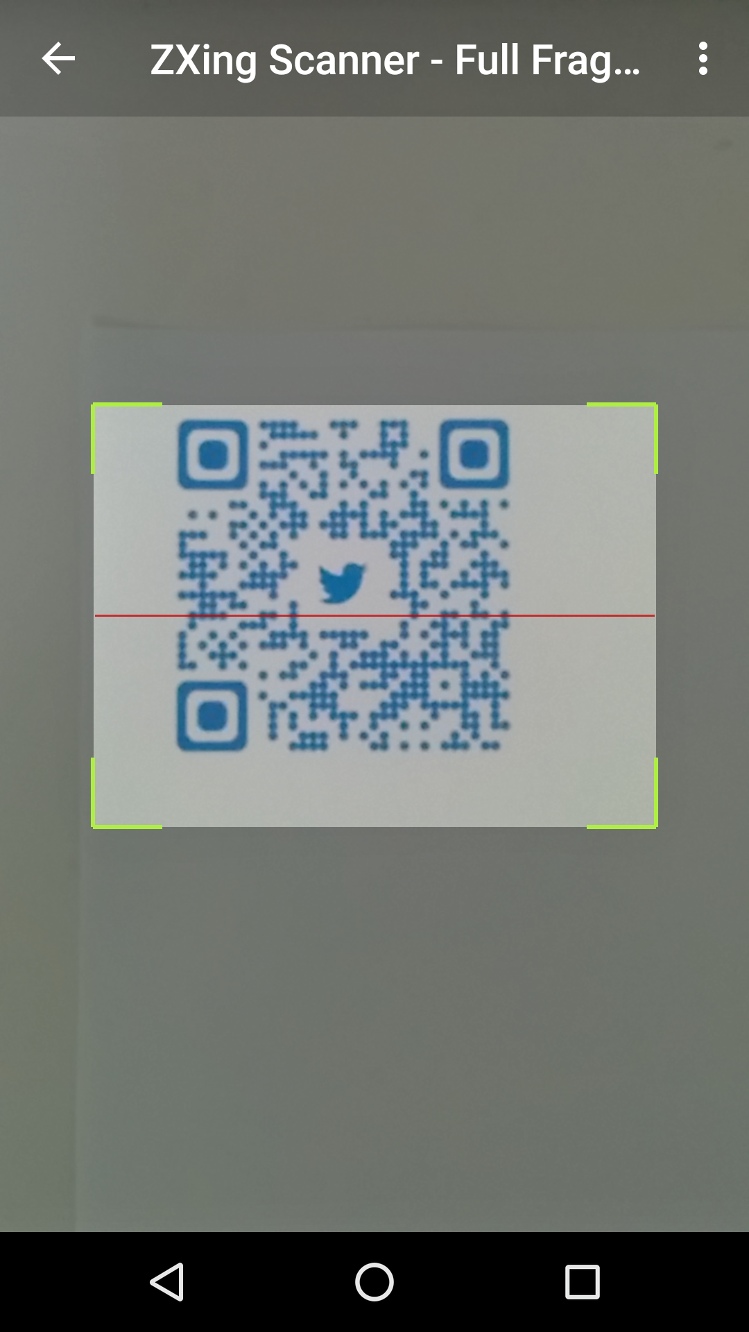 The Android Arsenal - QR Codes - Barcode Scanner (ZXing)