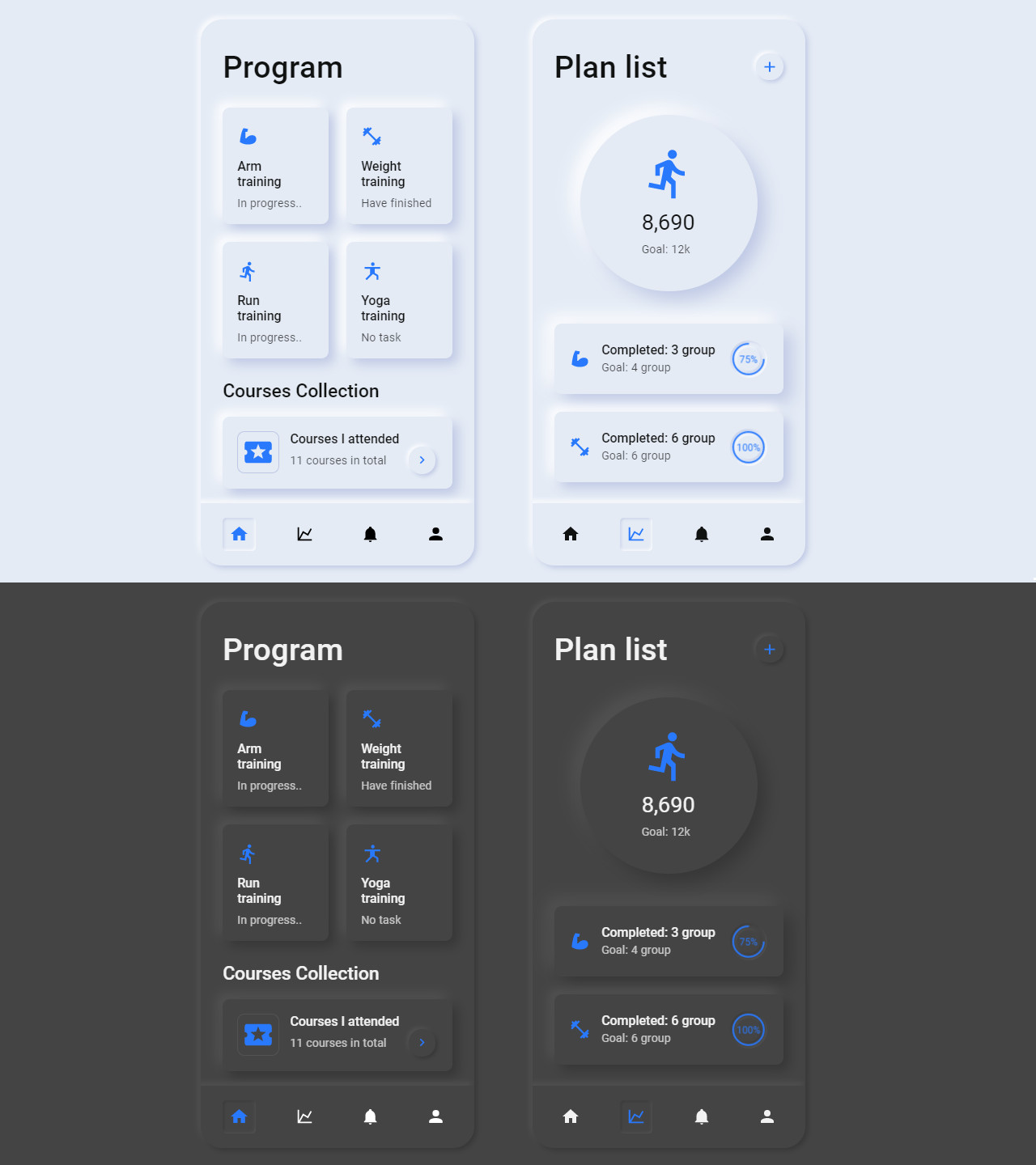 Fitness App by Jray