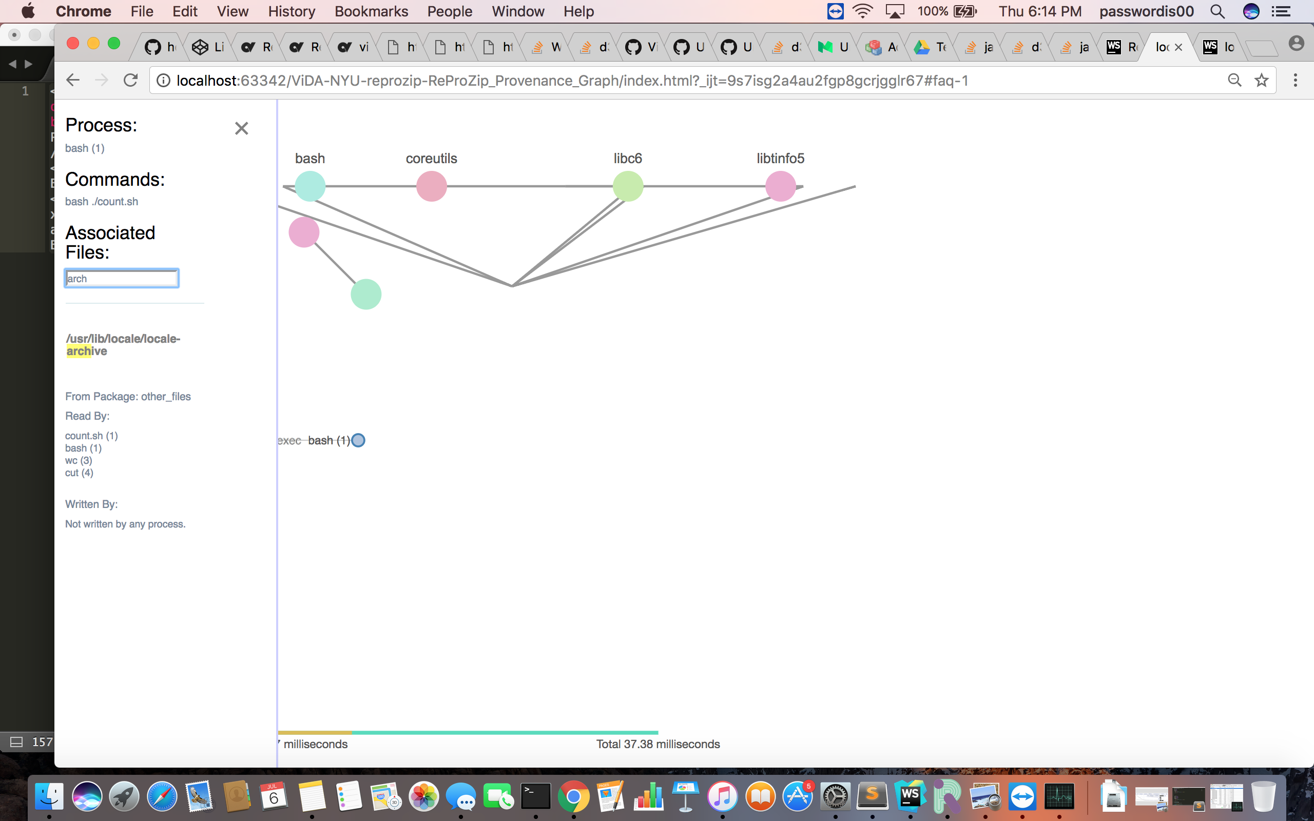 Packages & Processes relationship visualization 2: