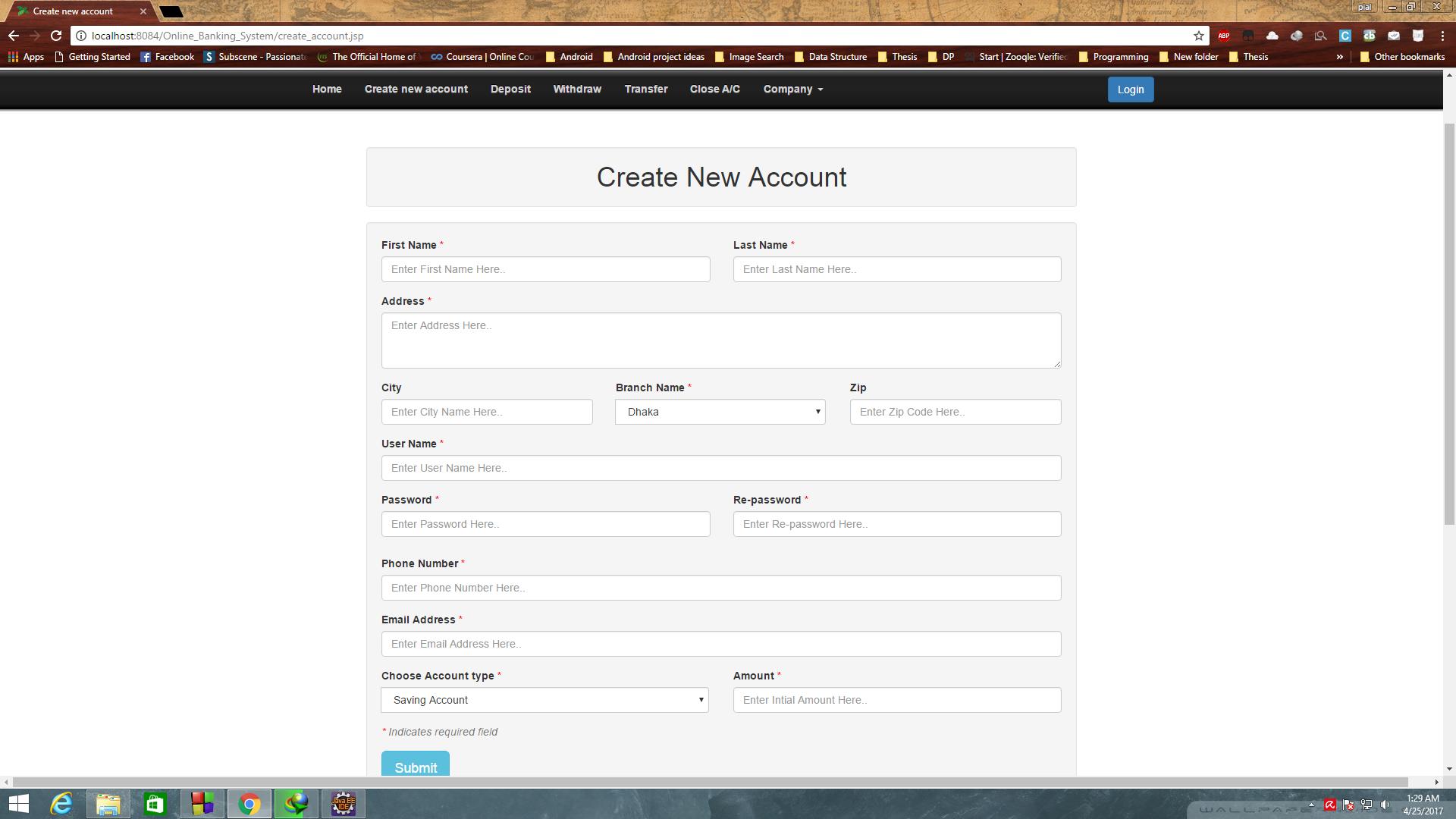 GitHub - PialKanti/Online-Banking-System: Java, J2EE based