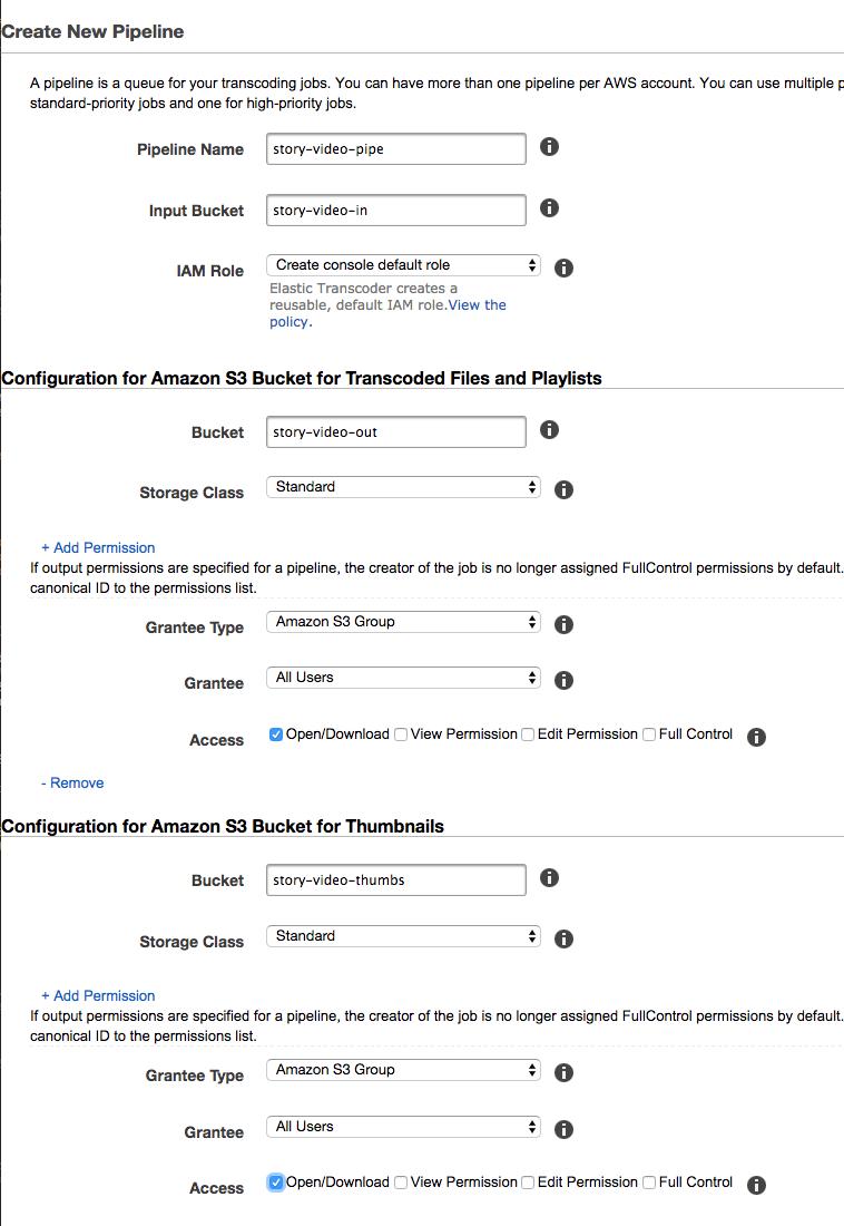 Adaptive Streaming with MPEG-DASH and HLS using AWS · GitHub