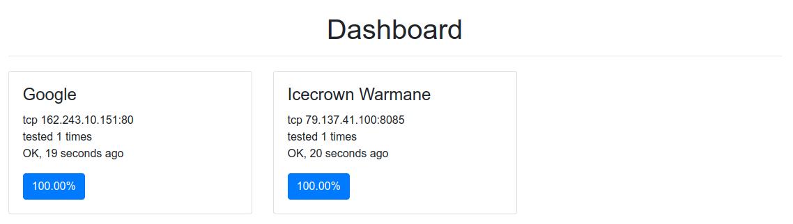 Dashboard HTTP server
