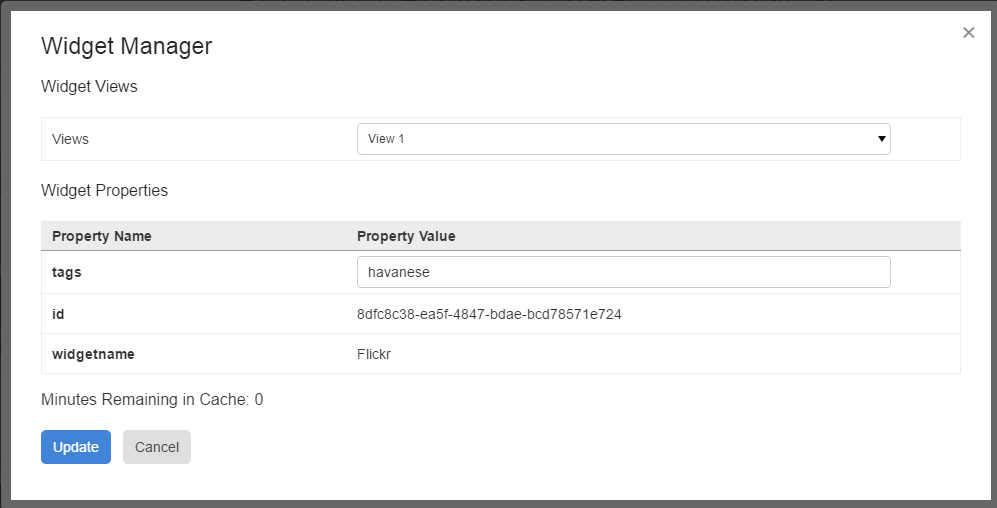 Building A Custom Widget: Flickr Image Library · akumina
