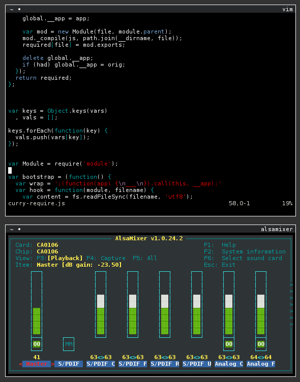 GitHub - chjj/tty js: A terminal for your browser, using