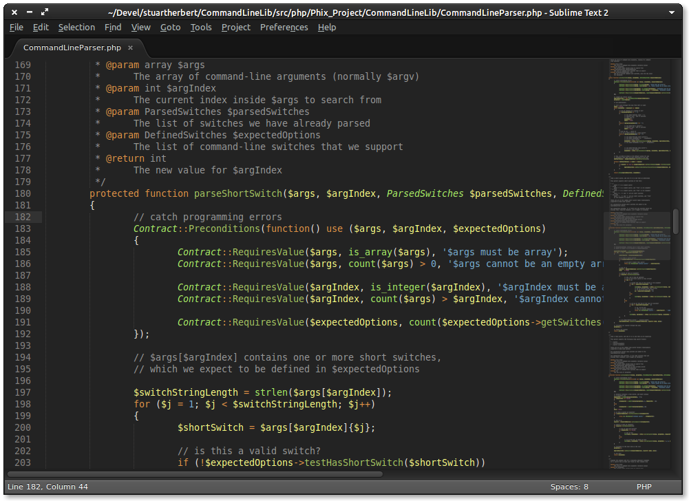 Phix Color Scheme inside Sublime Text 2