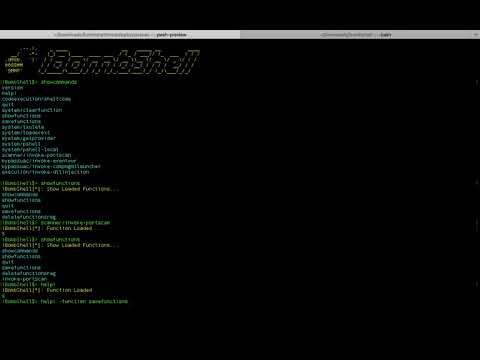 iBombShell: PoC de uso desde macOS