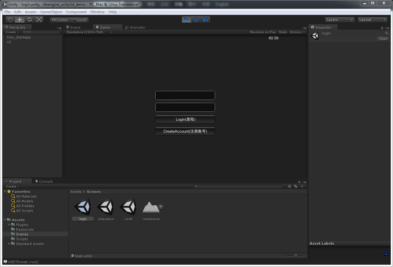 GitHub - kbengine/kbengine_unity3d_demo: This client-project is