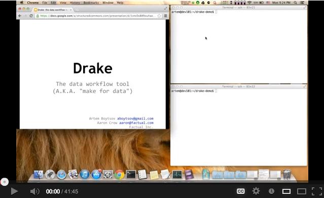 GitHub - Factual/drake: Data workflow tool, like a
