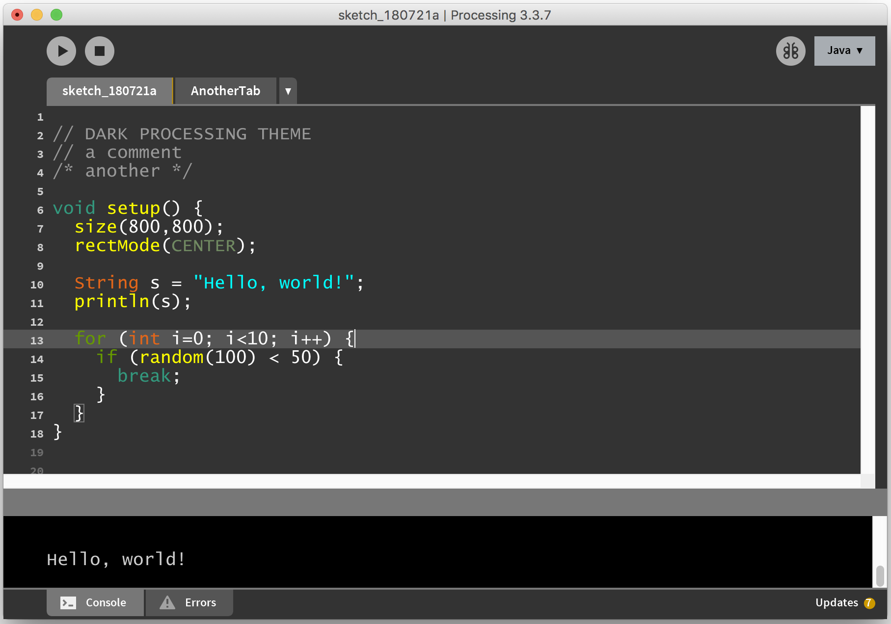 GitHub - jeffThompson/DarkProcessingTheme_3 0: A dark theme