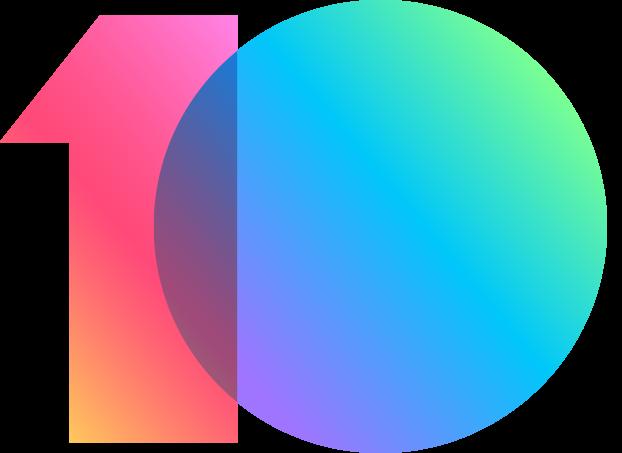MIUI10 logo