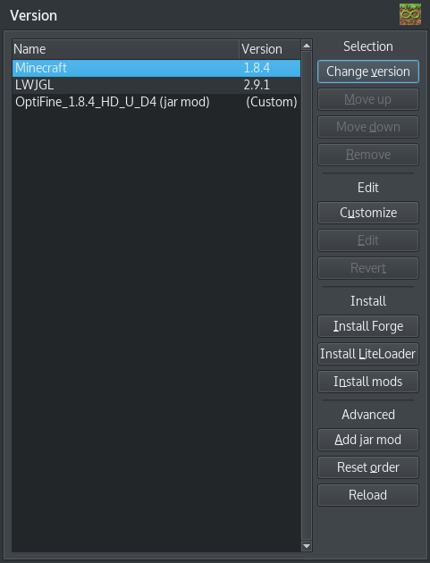 Instance Version · MultiMC/MultiMC5 Wiki · GitHub