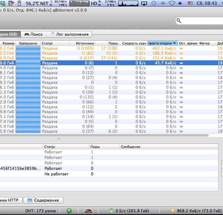 Low upload speed when seeding · Issue #684 · qbittorrent/qBittorrent
