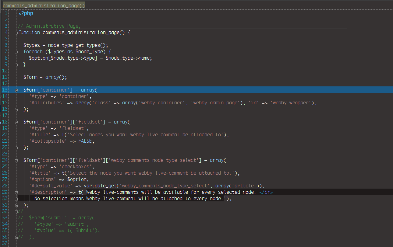 PHP coding