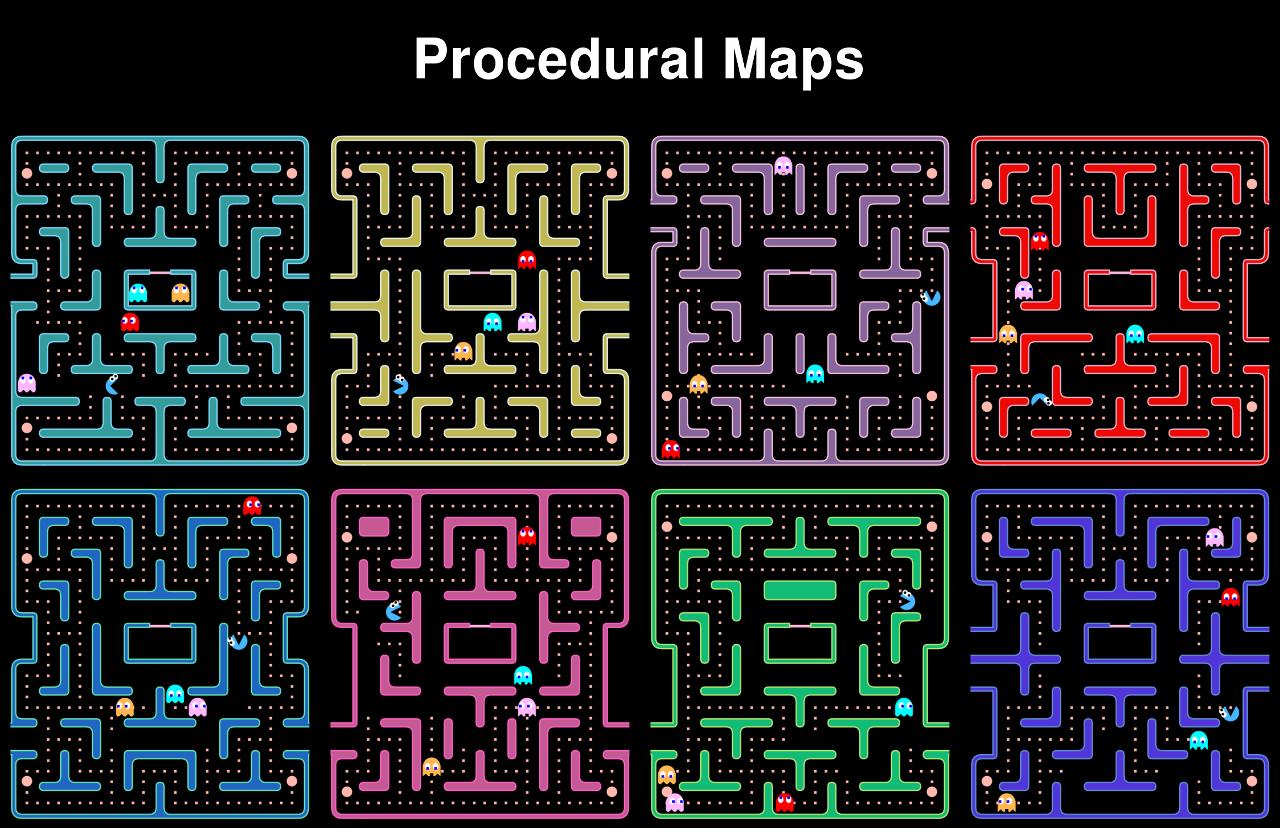 Image result for pacman level design