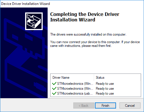 Install programmer step 6.4