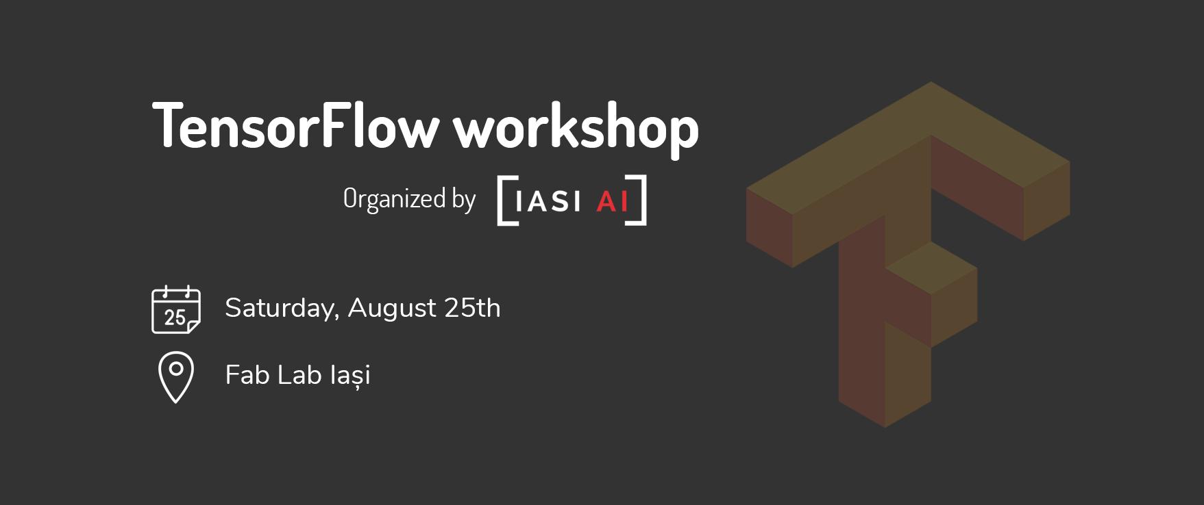 TensorFlow workshop cover