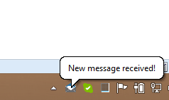 Instant Feedback When New Email Arrives