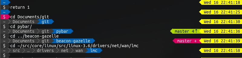 GitHub - nullpuppy/powerline-bash: Powerline for Bash/ZSH