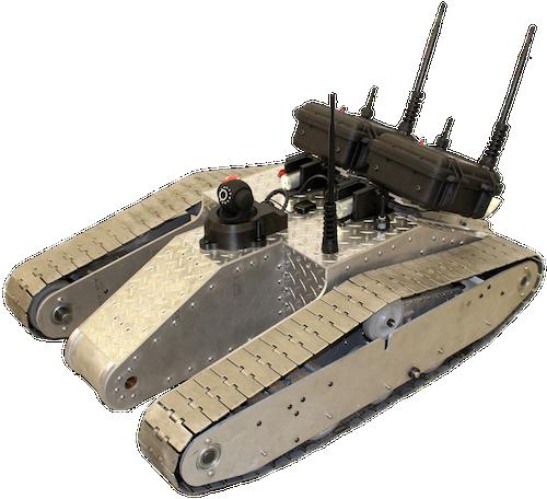 Awesome node.js tank robot