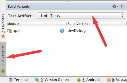 how to create a unit test