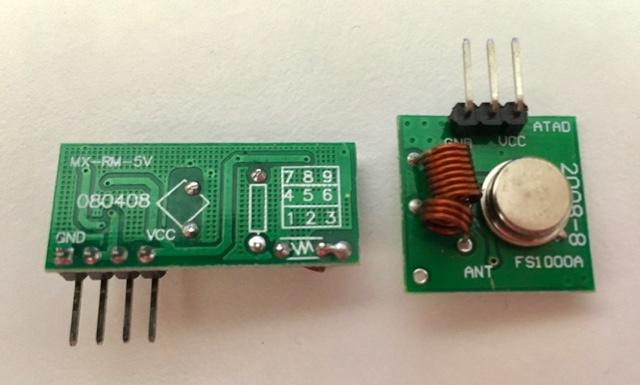 FS1000A Receiver/Transmitter Set