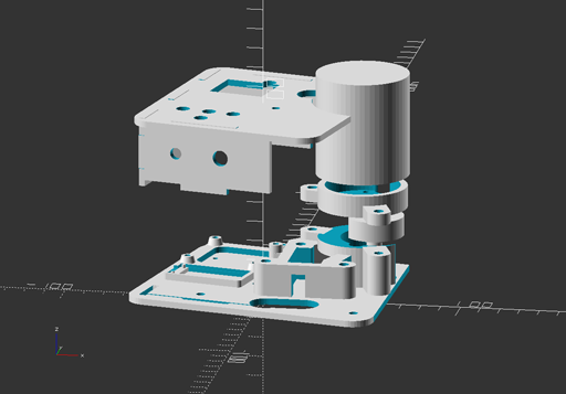 Photo of exploded view